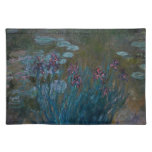 Irises & Water Lilies Cloth Placemat