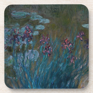 Irises & Water Lilies Coaster