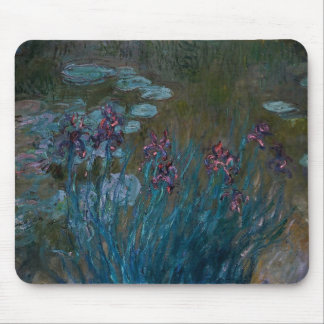 Irises & Water Lilies Mouse Pad