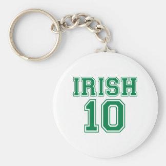 Irish 10 key chain