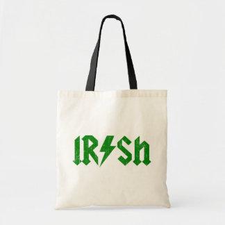Irish AC/DC Green Bags