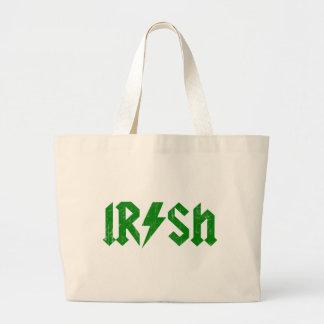 Irish AC/DC Green Canvas Bag