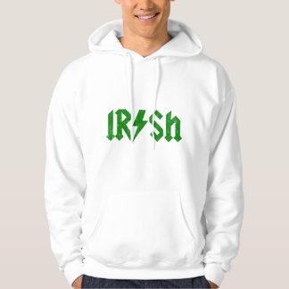 Irish AC/DC Green Hooded Pullover