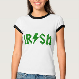Irish AC/DC Green T-Shirt