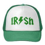 Irish AC/DC Green Trucker Hat