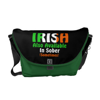 Irish Also Available In Sober Courier Bags