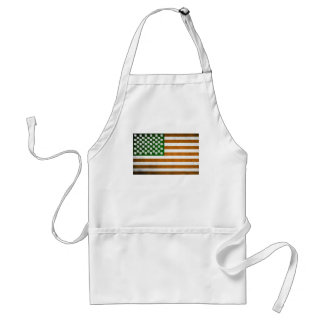 Irish American 015 Adult Apron