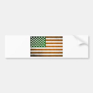 Irish American 015 Bumper Sticker