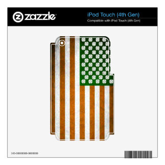 Irish American 015 Decal For iPod Touch 4G