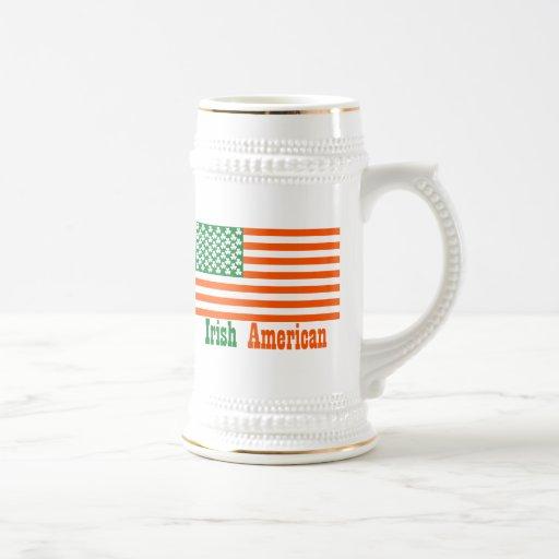 Irish American 18 Oz Beer Stein
