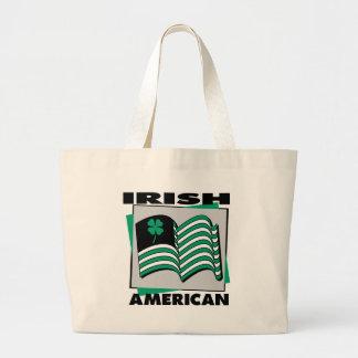 Irish American Jumbo Tote Bag