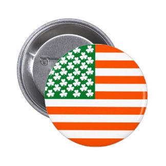 Irish American Button
