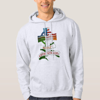Irish American Celtic Cross Hoodies