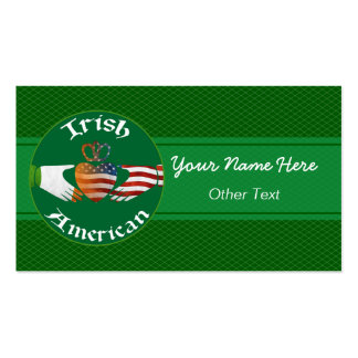 Irish American Claddagh Custom Business Cards