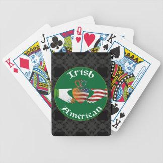 Irish American Claddagh Design Playing Cards
