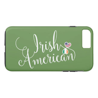 Irish American Entwined Hearts Cell Phone Case