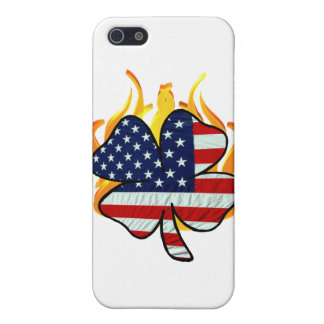 Irish American Firefighter Cover For iPhone SE/5/5s