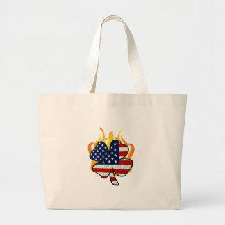 Irish American Firefighters Bags