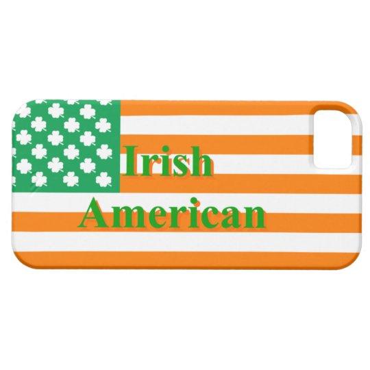 Irish american flag iPhone SE/5/5s case