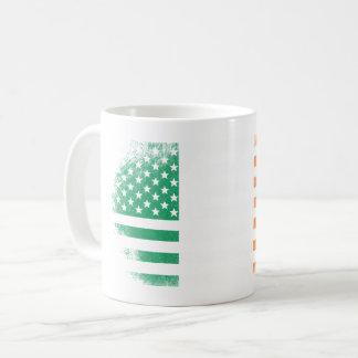 Irish American Flag   Ireland and USA Design Coffee Mug