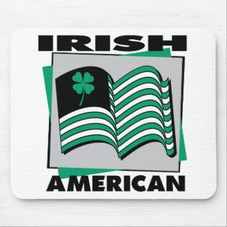 Irish American Flag Mouse Mat