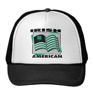 Irish American Flag Trucker Hat