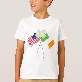 Irish American Flags T-Shirt