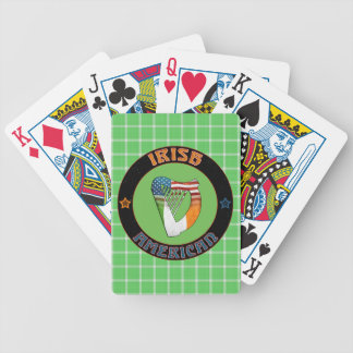 Irish American Harp Playing Cards
