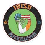Irish American Harp Stickers