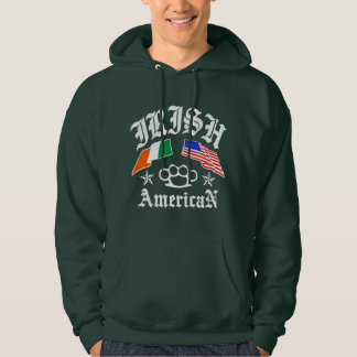 Irish American Hooded Pullover