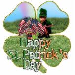 Irish American Leprechaun Photo Cutout