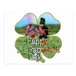 Irish American Leprechaun Post Card