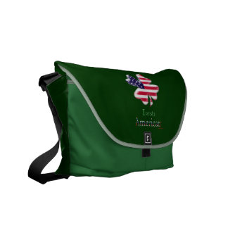 Irish American Messenger Bag