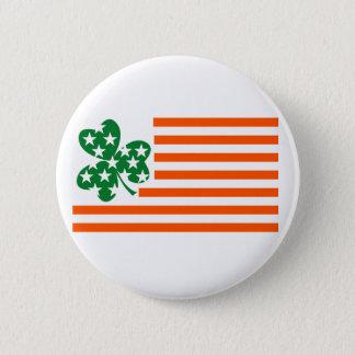 Irish American Pinback Button