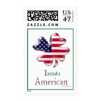 Irish American Postage Stamp