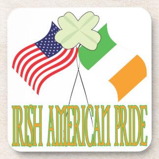Irish American Pride Beverage Coaster