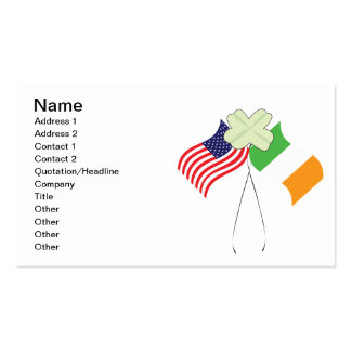 Irish American Pride Business Card