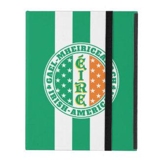 Irish American Pride Éire Flag iPad Folio Case