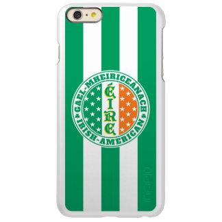 Irish American Pride - Éire Flag with Gaelic Text Incipio Feather Shine iPhone 6 Plus Case