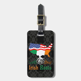 Irish American Roots Baggage Tag