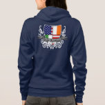Irish-American Shield Flag Hoodie