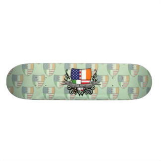 Irish-American Shield Flag Skateboard Deck