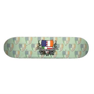 Irish-American Shield Flag Skateboard Decks