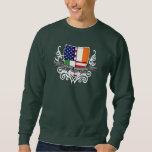 Irish-American Shield Flag Sweatshirt