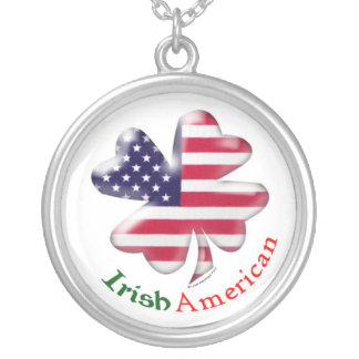 Irish American Silver Plated Necklace