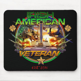 Irish American Veteran Pride Mouse Pad