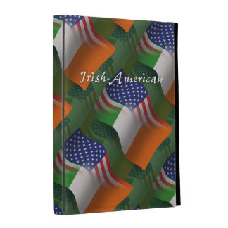 Irish-American Waving Flag iPad Folio Case