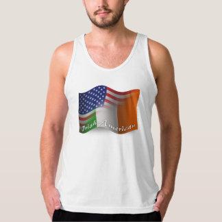 Irish-American Waving Flag Tank Top