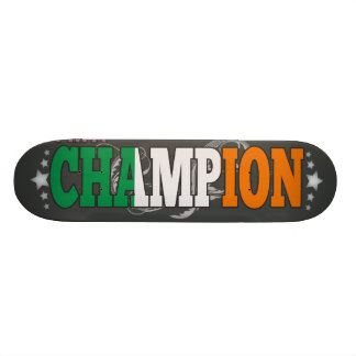 Irish and a Champion Custom Skateboard