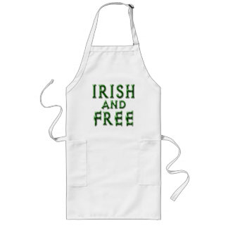 IRISH and FREE for St. Patrick's Day Long Apron